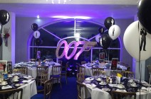 Prego events james bond themed event for 007 decoration ideas