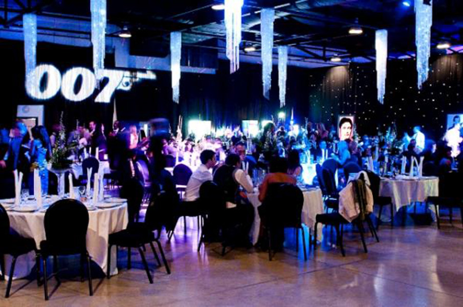 Prego events james bond themed event for Decoration 007