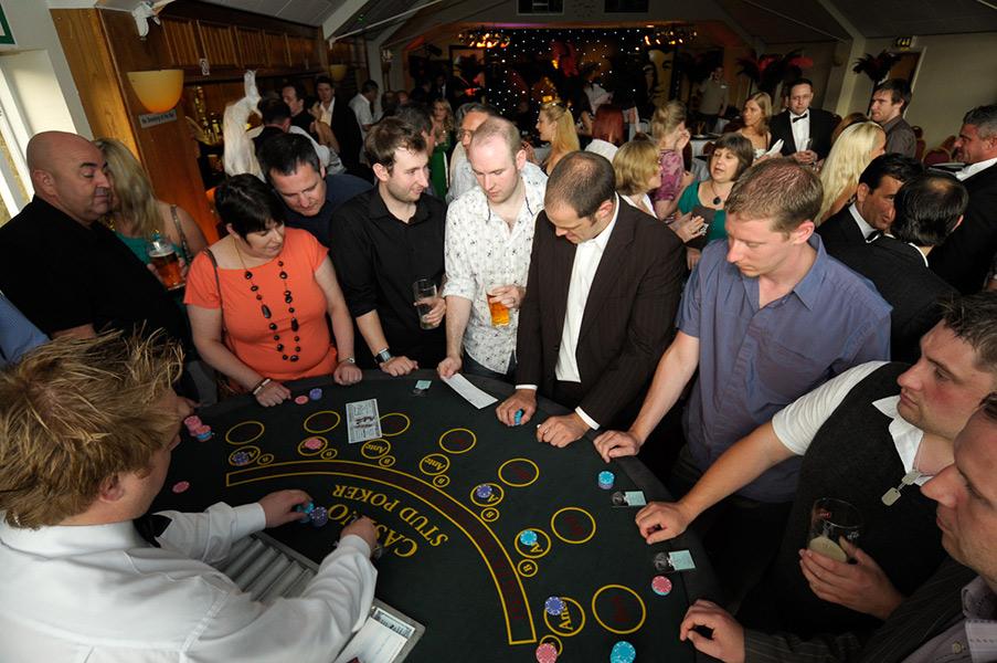 prego events casino themed event