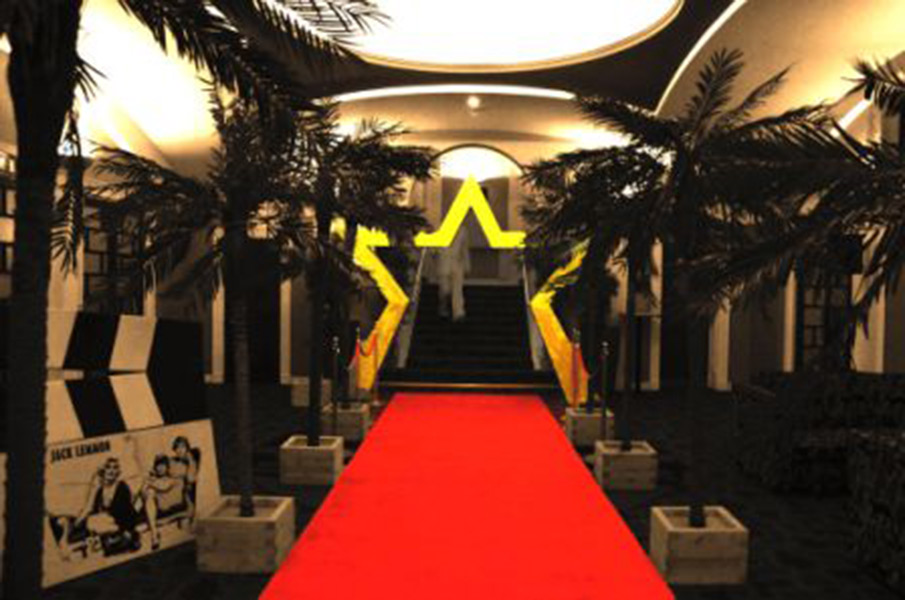 Prego events hollywood themed event for Hollywood party dekoration