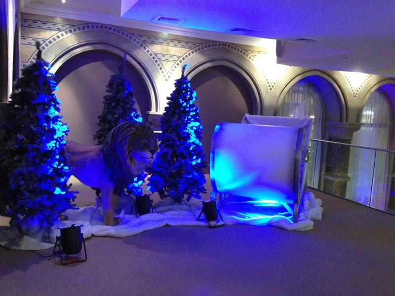 Winter Wonderland Christmas Theme.Prego Events Winter Wonderland Themed Event